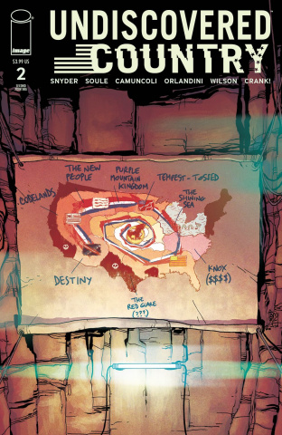 Undiscovered Country #2 (2nd Printing)