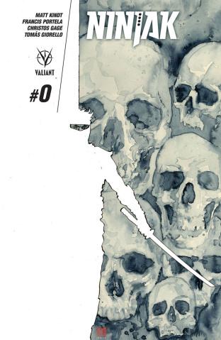 Ninjak #0 (Mack Cover)