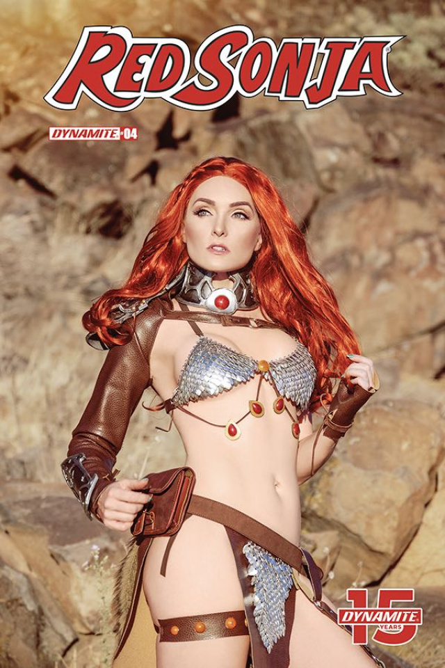 Red Sonja #4 (Cosplay Cover)