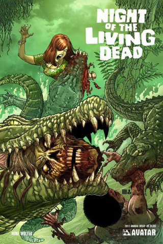 Night of the Living Dead 2011 Annual (Wrap Cover)
