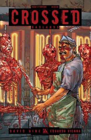 Crossed: Badlands #17 (Torture Cover)