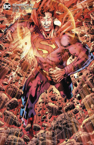 Superman #20 (Card Stock Bryan Hitch Cover)
