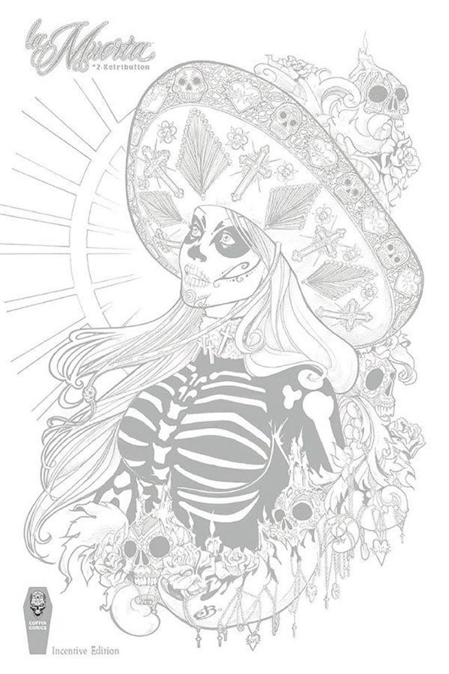 La Muerta: Retribution #2 (Jen Broomall Cover)
