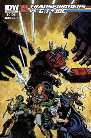 Transformers vs. G.I. Joe #6 (Subscription Cover)