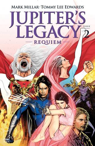 Jupiter's Legacy: Requiem #2 (Sook Cover)