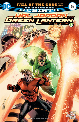 Hal Jordan and The Green Lantern Corps #26