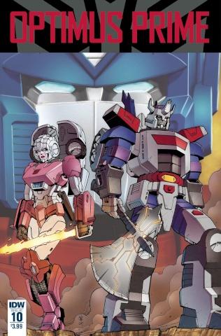 Optimus Prime #10 (Zama Cover)