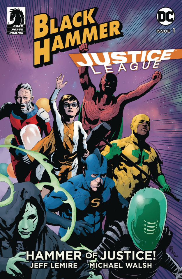 Black Hammer / Justice League #1 (Sorrentino Cover)