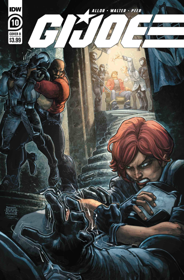 G.I. Joe #10 (Williams II Cover)