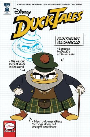 DuckTales #8 (10 Copy Cover)