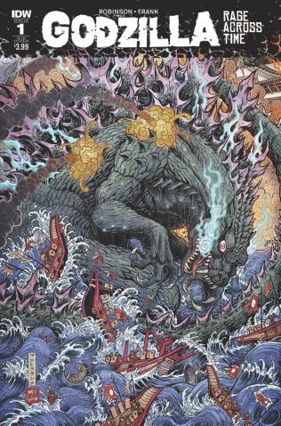 Godzilla: Rage Across Time #1 (Subcription Cover)