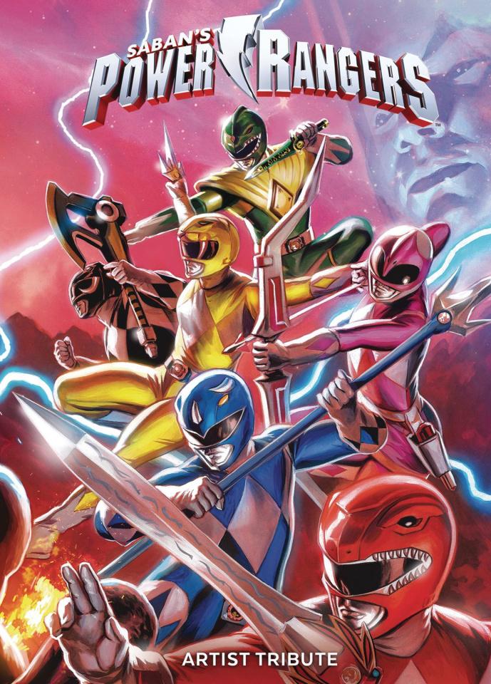 Power Rangers Artist Tribute