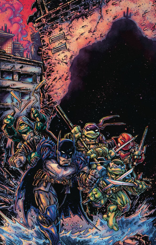 Batman / Teenage Mutant Ninja Turtles III #3 (Variant Cover)