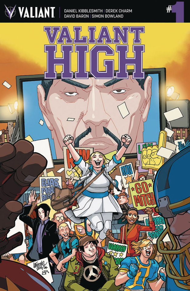 Valiant High #1 (Lafuente Cover)