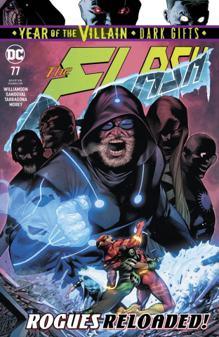 The Flash #77 (Dark Gifts Cover)