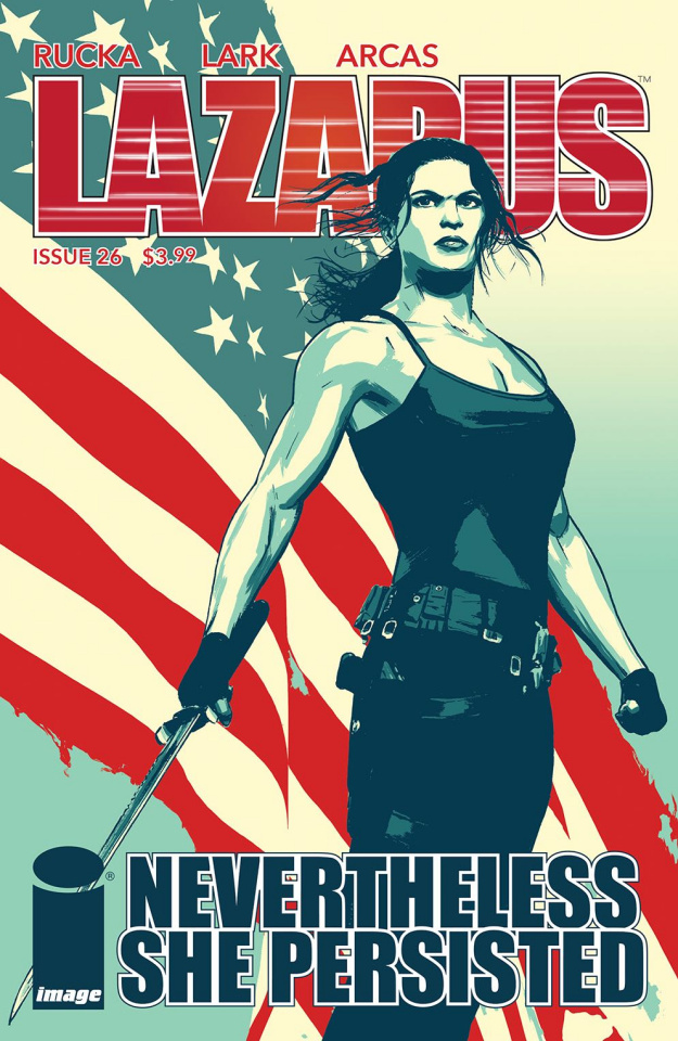 Lazarus #26 (Women's History Month Cover)