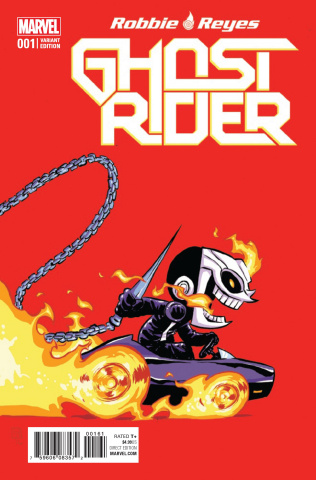 Ghost Rider #1 (Young Cover)