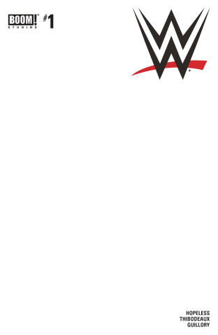 WWE #1 (Unlock Blank Sketch Cover)