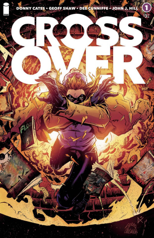 Crossover #1 (Stegman & Cunniffe Cover)