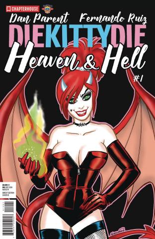 Die Kitty, Die! Heaven & Hell #1 (Ruiz Cover)