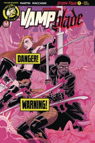 Vampblade, Season Four #7 (Young Risque Cover)