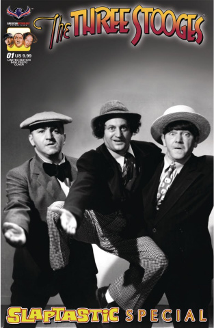The Three Stooges Slaptastic Special #1 (Limited Edition B&W Cover)