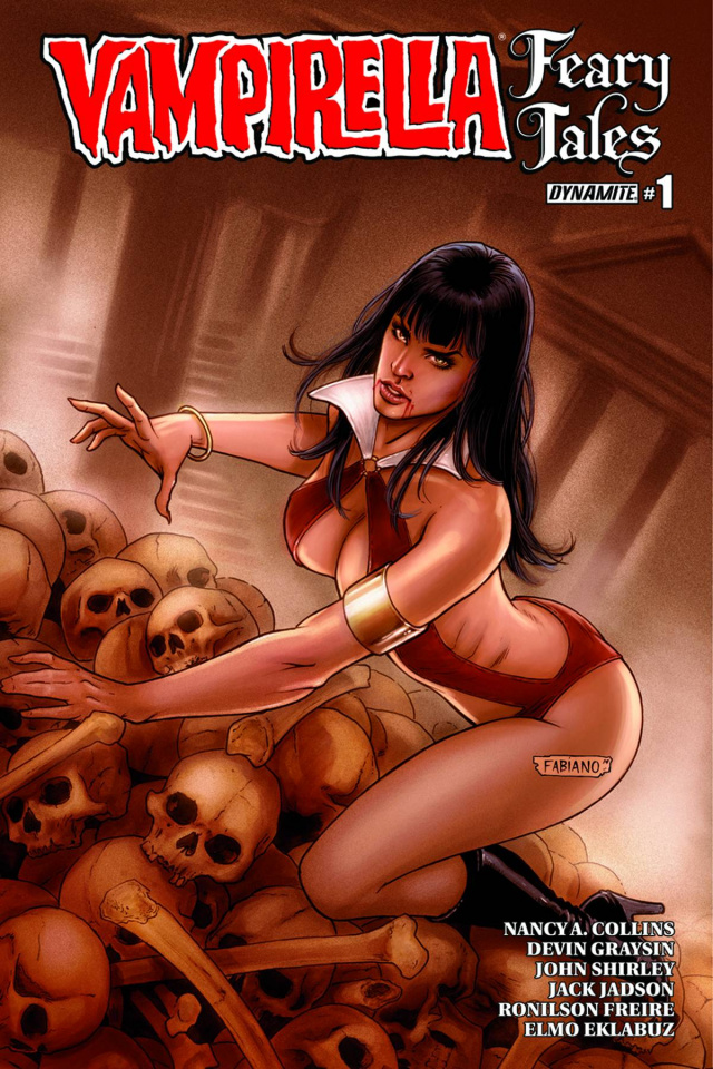 Vampirella: Feary Tales #1 (Neves Cover)