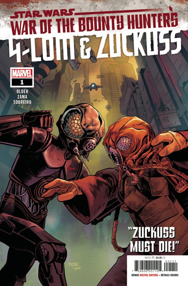 Star Wars: War of the Bounty Hunters - 4-Lom & Zuckuss #1