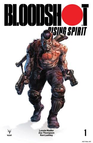 Bloodshot: Rising Spirit #1 (Glass 250 Copy Braithwaithe Cover)