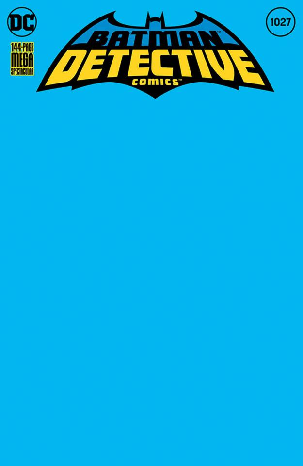 Detective Comics #1027 (Blank Cover)