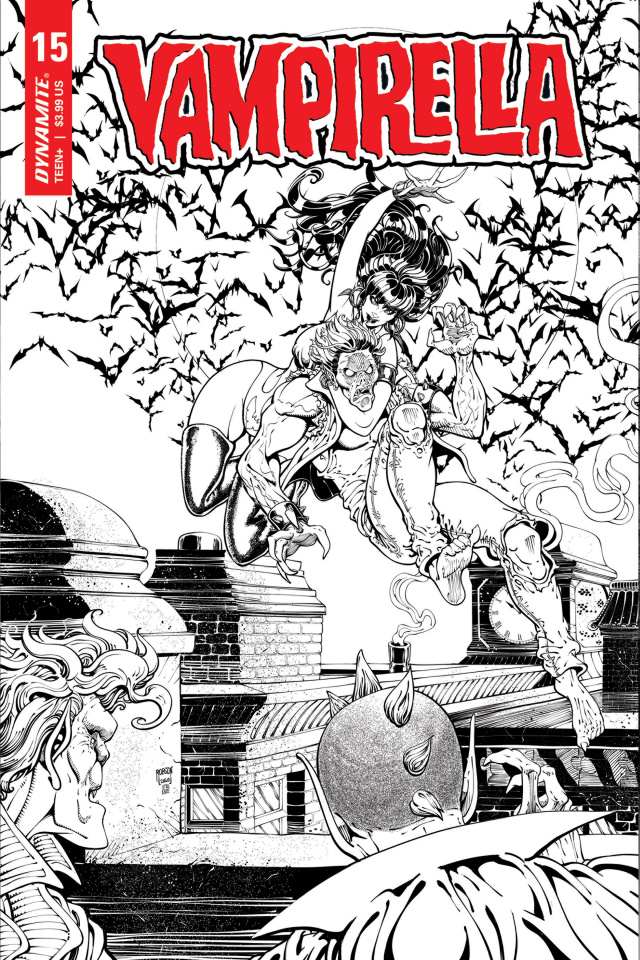 Vampirella #15 (25 Copy Robson Homage B&W Cover)