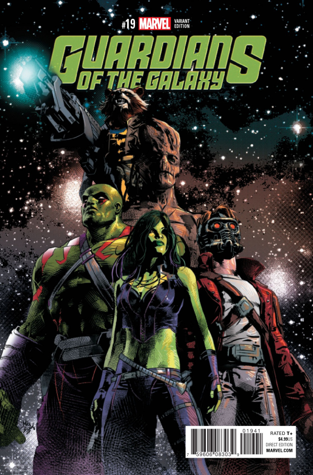 Guardians of the Galaxy #19 (Deodato Cover)
