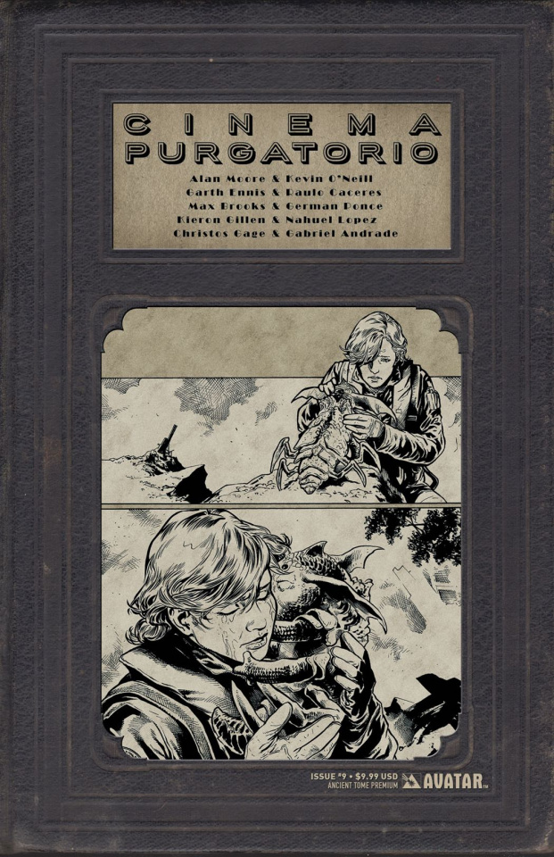 Cinema Purgatorio #9 (Ancient Tome Premium Cover)