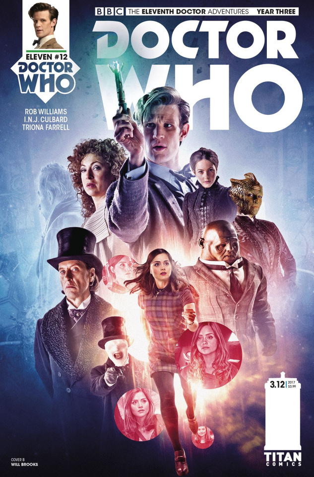 Doctor Who: New Adventures with the Eleventh Doctor, Year Three #12 (Photo Cover)