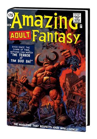 Amazing Fantasy (Omnibus Brereton Cover)