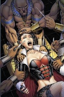 Grimm Fairy Tales: Van Helsing vs. The Mummy of Amun Ra #4 (Metcalf Cover)