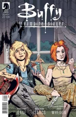 Buffy the Vampire Slayer, Season 10 #22 (Isaacs Cover)