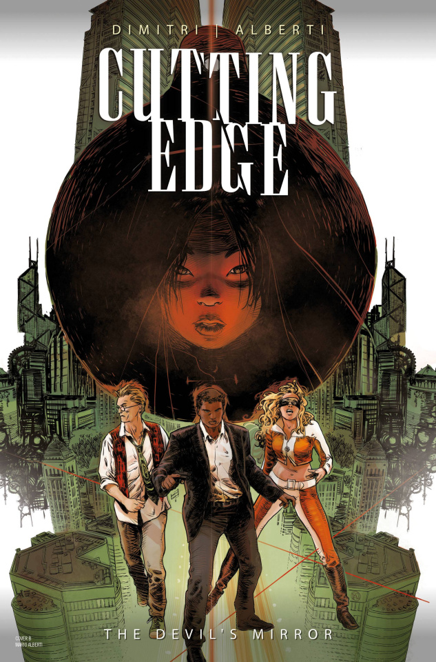 Cutting Edge: The Devil's Mirror #1 (Alberti Cover)