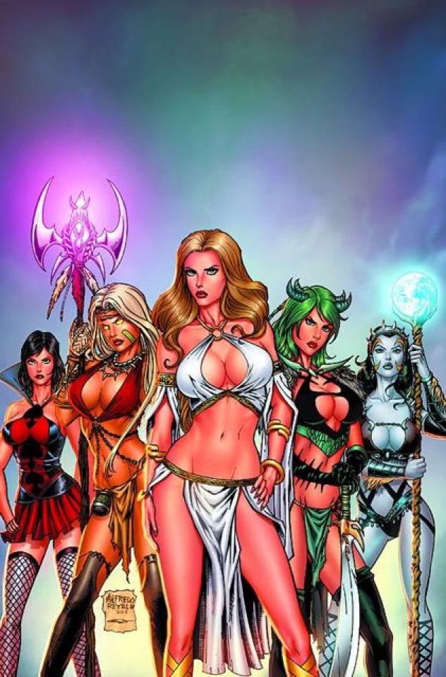 Grimm Fairy Tales: Bad Girls #1 (Reyes Cover)