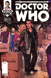 Doctor Who: New Adventures with the Ninth Doctor #12 (Photo Cover)