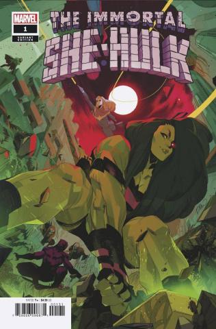 The Immortal She-Hulk #1 (Di Meo Empyre Cover)