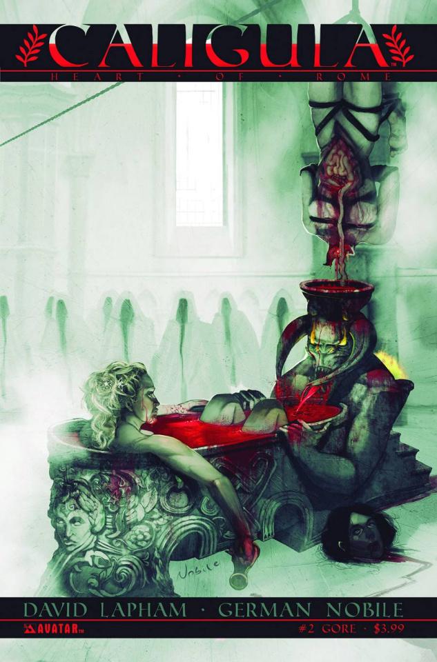 Caligula: Heart of Rome #2 (Gore Cover)