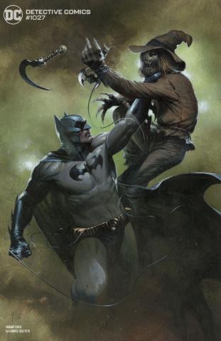Detective Comics #1027 (Gabriele Dell'Otto Batman Scarecrow Cover)