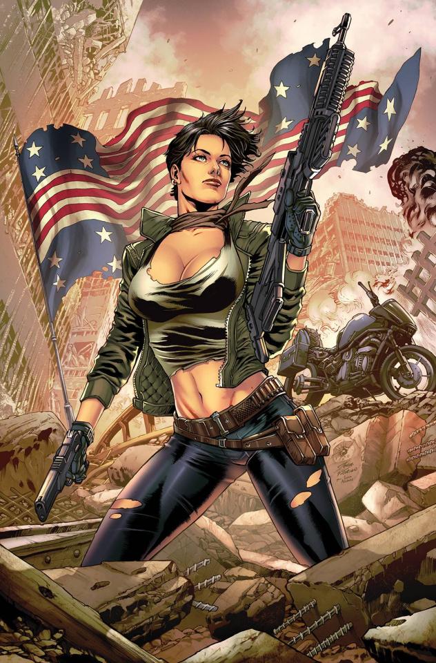 Courier: Liberty & Death #2 (Vitorino Cover)