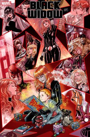 Black Widow #4 (Checchetto Cover)