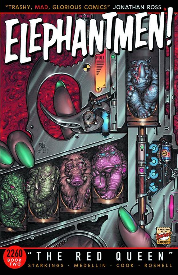 Elephantmen 2260 Book 2