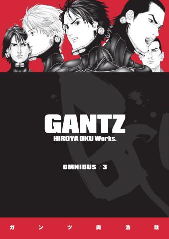 Gantz Vol. 3 (Omnibus)