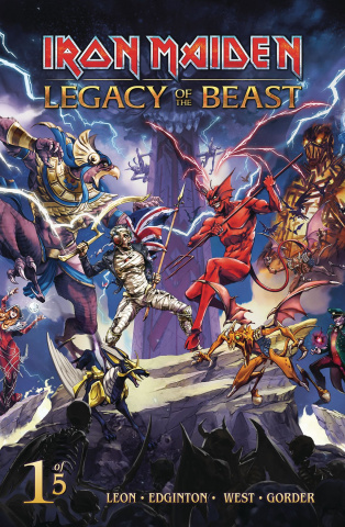 Iron Maiden: Legacy of the Beast #1 (Casas Cover)