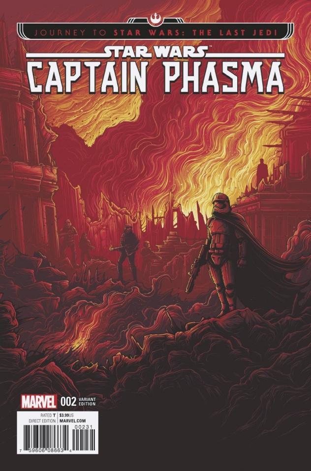 Journey to Star Wars: The Last Jedi - Captain Phasma #2 (Movie Cover)