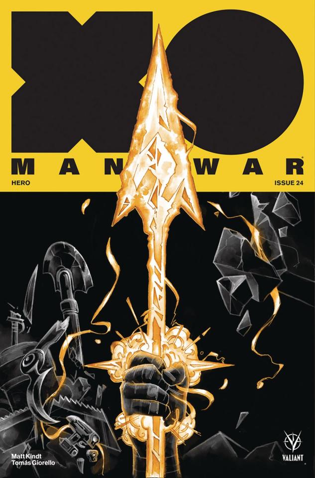 X-O Manowar #24 (Manomivibul Cover)